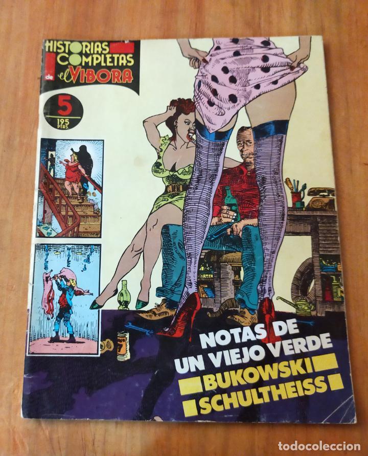 HISTORIAS COMPLETAS DEL VIBORA Nº 5 (Tebeos y Comics - La Cúpula - El Víbora)