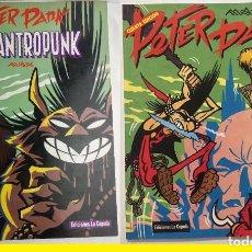 Cómics: PETER PANK - 2 ALBUNES - EL LICANTROPUNK / PETER PANK - EDIC LA CUPULA, ESTADO EXC !!. Lote 228451105