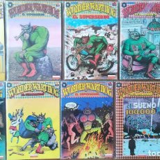 Cómics: WONDER WART-HOG EL SUPERSERDO DEL 1 AL 9. Lote 228633520