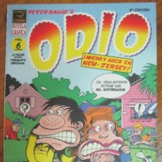 Fumetti: ODIO- MIEDO Y ASCO EN NEW JERSEY- PETER BAGGE. Lote 228755540