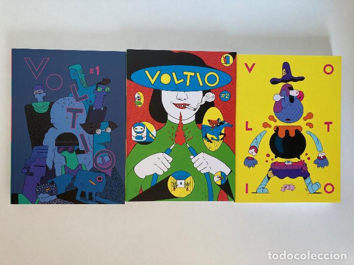 REVISTA VOLTIO 1 AL 3, CON ANA ONCINA, AROHA TRAVÉ, ANA GALVAÑ, NÚRIA TAMARIT... COLECCIÓN COMPLETA. (Tebeos y Comics - La Cúpula - Autores Españoles)