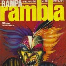 Cómics: RAMPA RAMBLA. COLECCION COMPLETA. TOTAL 10 NUMEROS. Lote 230071640
