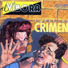 Cómics: EL VIBORA ESPECIAL CRIMEN. Lote 230081065