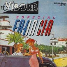 Cómics: EL VIBORA ESPECIAL FRANCIA. Lote 230081680