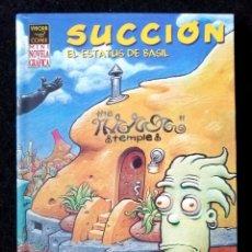 Comics : SUCCIÓN - EL ESTATUS DE BASIL - (DAVE COOPER) LA CÚPULA 2004 ''MUY BUEN ESTADO''. Lote 230322545