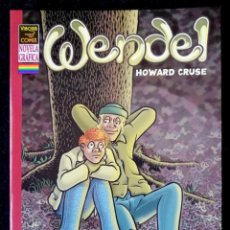 Cómics: WENDEL (HOWARD CRUSE) (TEMÁTICA LGTB) LA CÚPULA 2004 ''EXCELENTE ESTADO''. Lote 231846070