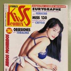 Comics : COMIC EROTICO KISS COMIX Nº 36 - SOLO PARA ADULTOS. Lote 232489420