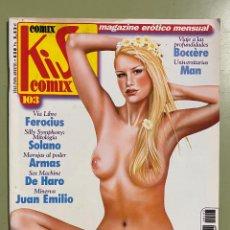 Comics : COMIC EROTICO KISS COMIX Nº 103 - SOLO PARA ADULTOS. Lote 232490755