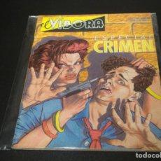 Cómics: EL VIBORA ESPECIAL CRIMEN. Lote 232552693