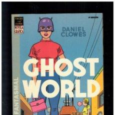 Comics: GHOST WORLD -MUNDO FANTASMAL- DANIEL CLOWES. LA CÚPULA. NUEVO.. Lote 233593150