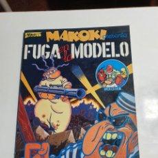Fumetti: EL VIBORA MAKOKI PRESENTA FUGA EN LA MODELO, GALLARDO Y MEDIAVILLA.. Lote 233617980