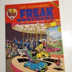 Comics : OBRAS COMPLETAS SHELTON 6, LOS FABULOSOS FREAK BROTHERS, TOTALMENTE PASADOS, COMO NUEVO PERFECTO EST. Lote 233618095