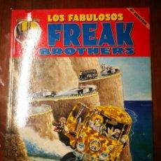 Cómics: LOS FABULOSOS FREAK BROTHERS (NºS 1,2,3,4,5,6,7,8,9,10 & 12). Lote 233768485