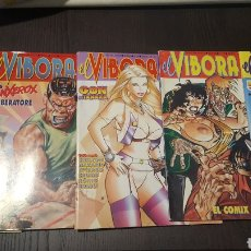 Fumetti: LOTE REVISTAS EL VIBORA 156, 158, 159, 160, 161-162 - EDICIONES LA CUPULA. Lote 233836875