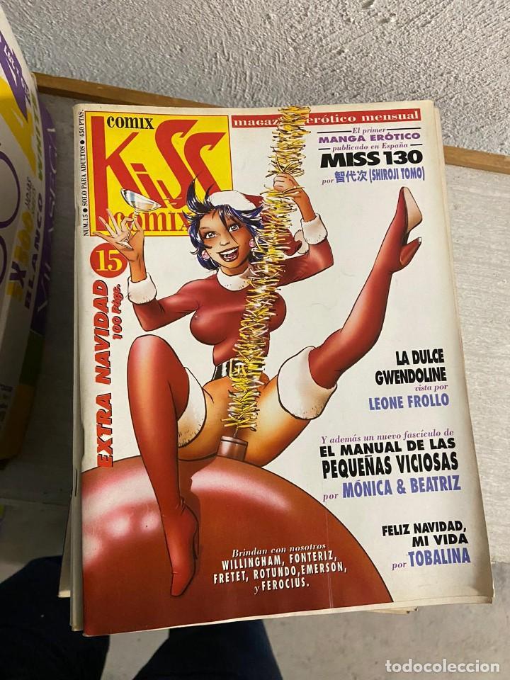 KISS COMIX NÚM. 15 (Tebeos y Comics - La Cúpula - Comic Europeo)