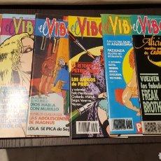 Cómics: LOTE REVISTAS EL VIBORA 108, 109, 110, 111, 112, 113-114, 115 - EDICIONES LA CUPULA. Lote 234114760