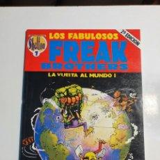 Comics : OBRAS COMPLETAS SHELTON 7 LOS FABULOSOS FREAK BROTHERS - LA VUELTA AL MUNDO.. Lote 234119260
