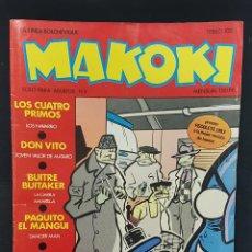 Cómics: COMIC MAKOKI Nº 9 1983 ESPECIAL AGENTES SECRETOS. EDICIONES LA CUPULA. TEBEO. LINEA BOLCHEVIQUE. Lote 234470420