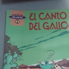 Fumetti: X EL CANTO DEL GALLO, DE MAX ((TODO MAX 11. LA CUPULA). Lote 234867855