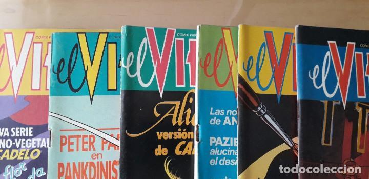 Cómics: Lote cómic El Víbora, 10 números consecutivos 111, 112, 113, 114, 115, 116,117, 118, 119, 120 - Foto 4 - 235097310
