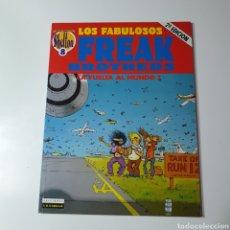 Comics : OBRAS COMPLETAS SHELTON 8 LOS FABULOSOS FREAK BROTHERS - LA VUELTA AL MUNDO 2.. Lote 235187625