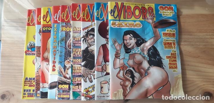 LOTE CÓMIC EL VÍBORA, 10 NÚMEROS CONSECUTIVOS 161, 162, 163, 164, 165, 166, 167, 168, 169, 170 (Tebeos y Comics - La Cúpula - El Víbora)