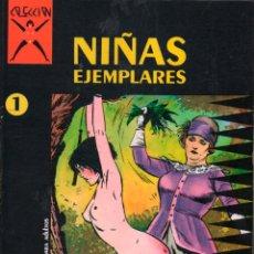 Cómics: COLECCION X Nº 1 NIÑAS EJEMPLEARES. LEVIS. 2ª ED. LA CUPULA. Lote 235829605