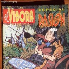 Cómics: EL VÍBORA ESPECIAL PASIÓN. EDICIONES LA CÚPULA 1987. BUENO. Lote 235906260