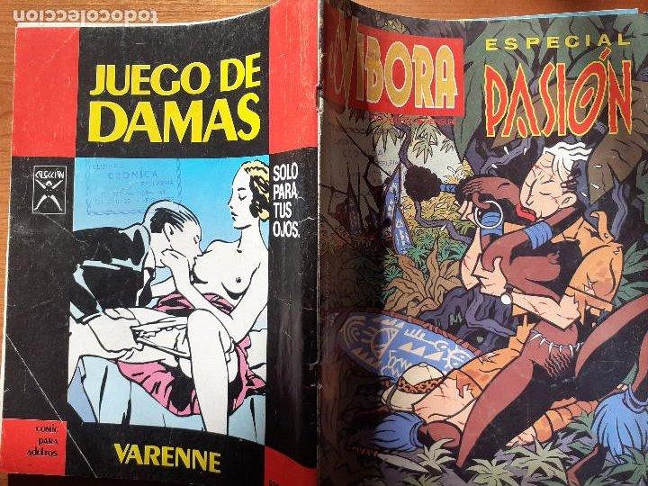 Cómics: El Víbora Especial Pasión. Ediciones La Cúpula 1987. Bueno - Foto 2 - 235906260