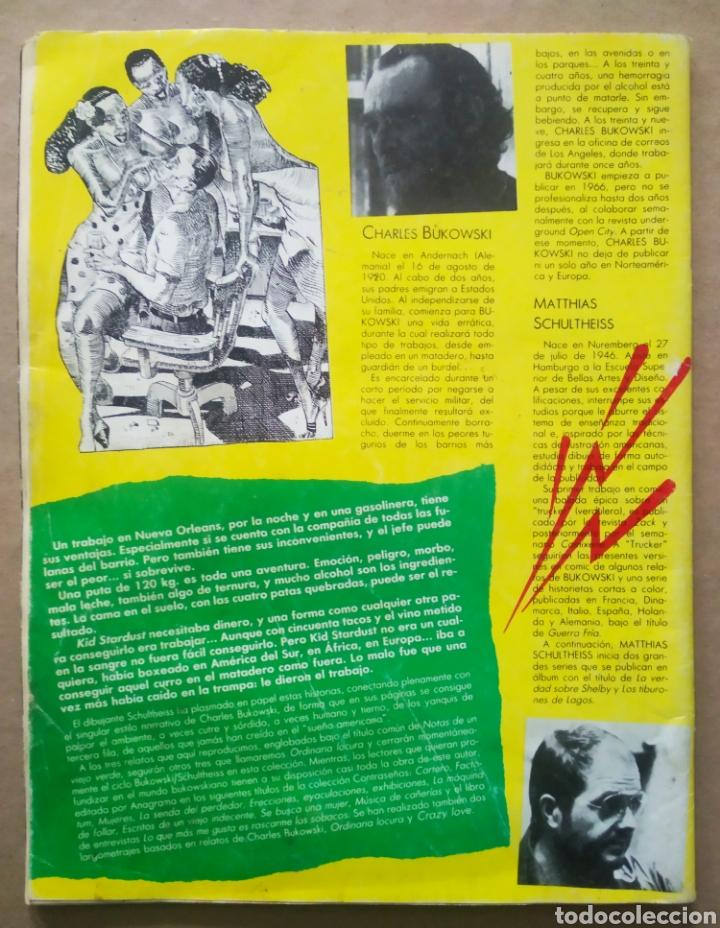Cómics: Historias Completas de El Víbora n°5: Notas de Un Viejo Verde. Bukowski y Schultheiss (La Cúpula). - Foto 2 - 236394245