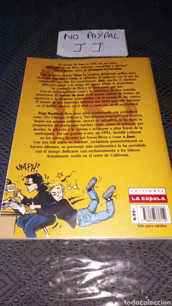 Cómics: Forrado con plástico el mundo de jane la cúpula paige braddock vol 1 comix novela gráfica - Foto 3 - 236763550