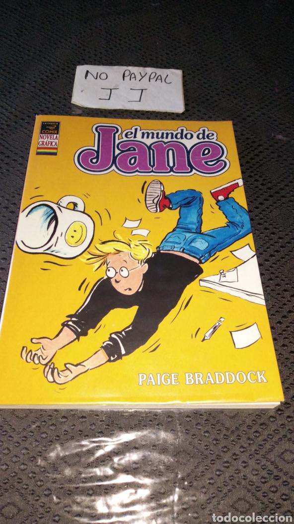 FORRADO CON PLÁSTICO EL MUNDO DE JANE LA CÚPULA PAIGE BRADDOCK VOL 1 COMIX NOVELA GRÁFICA (Tebeos y Comics - La Cúpula - Comic USA)