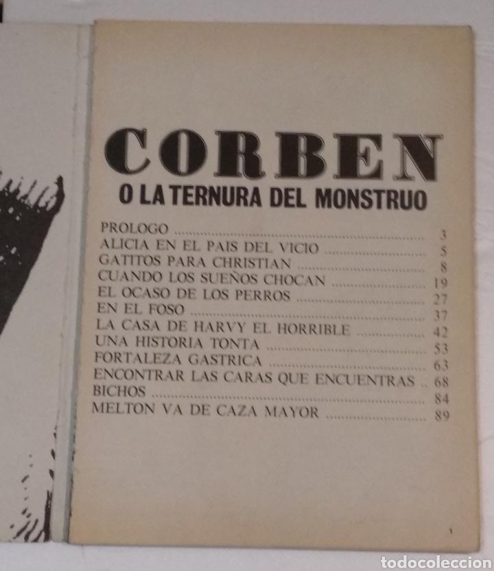 Cómics: RICHARD CORBEN O LA TERNURA DEL MONSTRUO LA CUPULA AÑO 1979 - VER FOTOS - Foto 2 - 236830090