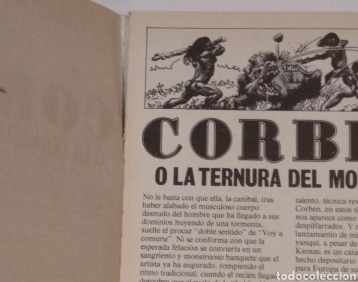 Cómics: RICHARD CORBEN O LA TERNURA DEL MONSTRUO LA CUPULA AÑO 1979 - VER FOTOS - Foto 5 - 236830090