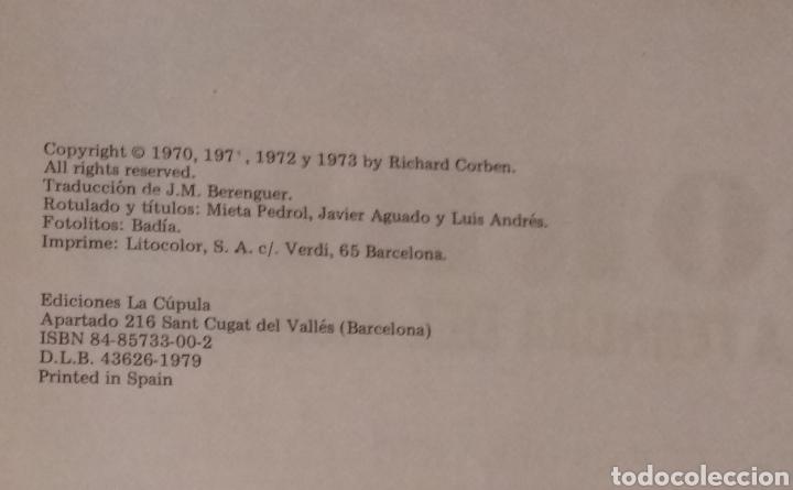 Cómics: RICHARD CORBEN O LA TERNURA DEL MONSTRUO LA CUPULA AÑO 1979 - VER FOTOS - Foto 7 - 236830090