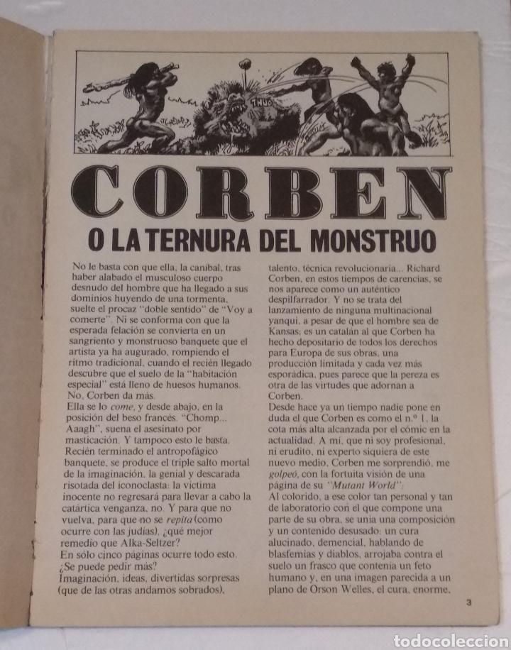 Cómics: RICHARD CORBEN O LA TERNURA DEL MONSTRUO LA CUPULA AÑO 1979 - VER FOTOS - Foto 4 - 236830090