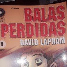 Cómics: BALAS PERDIDAS, DE DAVID LAPHAM #1. Lote 236849245