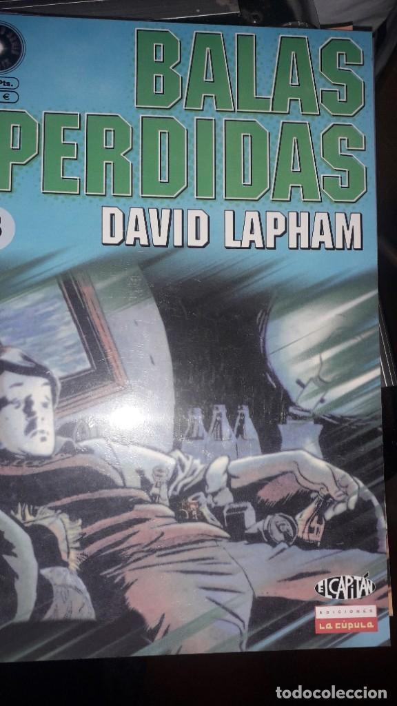 BALAS PERDIDAS #5, DE DAVID LAPHAM (Tebeos y Comics - La Cúpula - Comic USA)