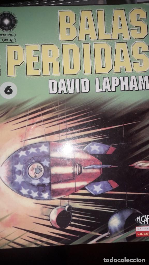 BALAS PERDIDAS #6, DE DAVID LAPHAM (Tebeos y Comics - La Cúpula - Comic USA)