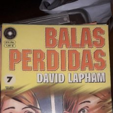 Cómics: BALAS PERDIDAS #7, DE DAVID LAPHAM. Lote 236849300