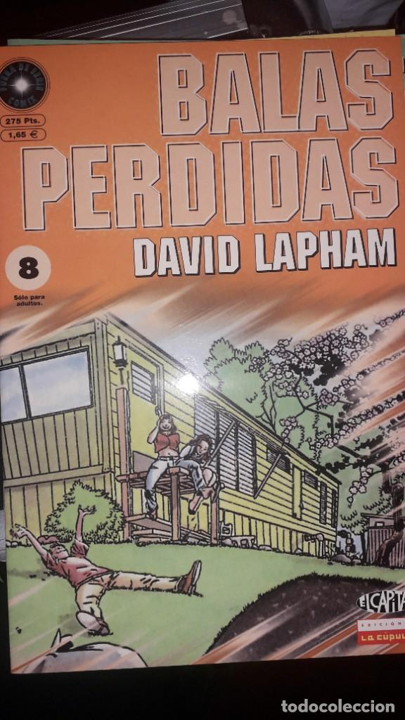 BALAS PERDIDAS #8, DE DAVID LAPHAM (Tebeos y Comics - La Cúpula - Comic USA)