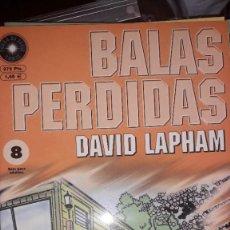 Comics : BALAS PERDIDAS #8, DE DAVID LAPHAM. Lote 236849310