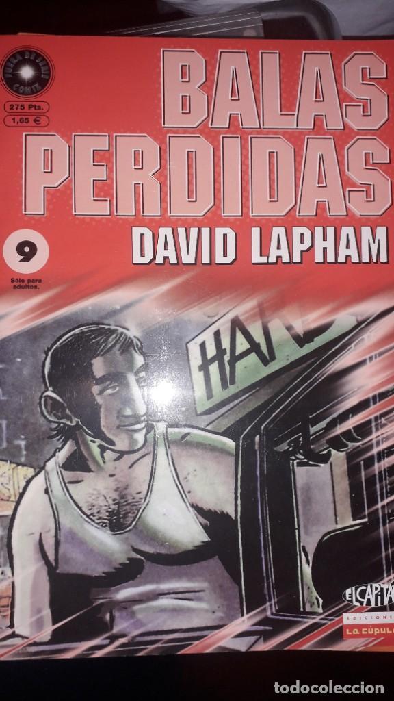 BALAS PERDIDAS #9, DE DAVID LAPHAM (Tebeos y Comics - La Cúpula - Comic USA)
