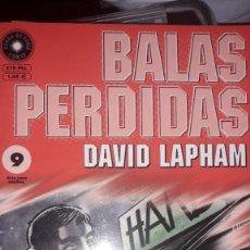 Comics : BALAS PERDIDAS #9, DE DAVID LAPHAM. Lote 236849330