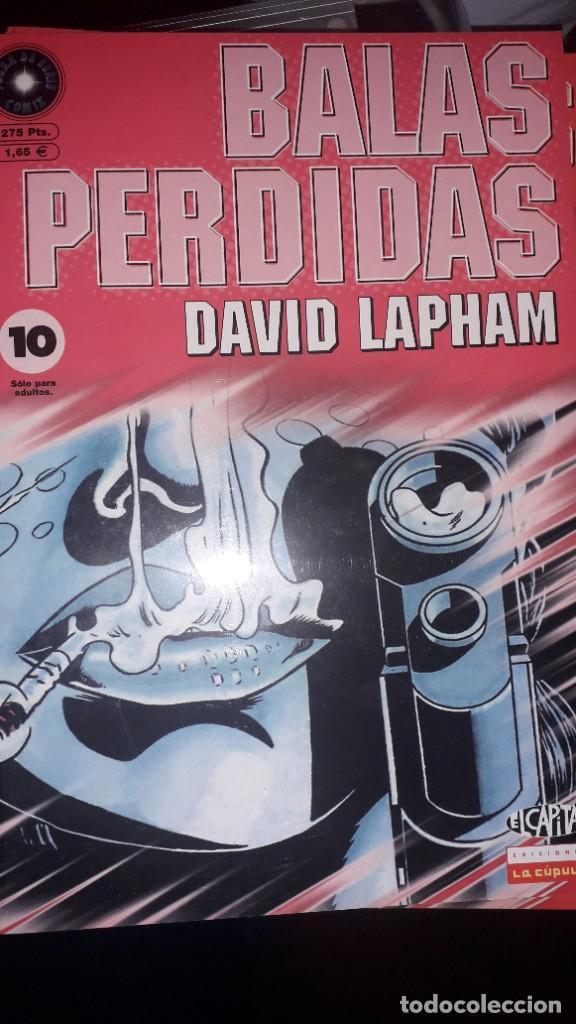 BALAS PERDIDAS #10, DE DAVID LAPHAM (Tebeos y Comics - La Cúpula - Comic USA)