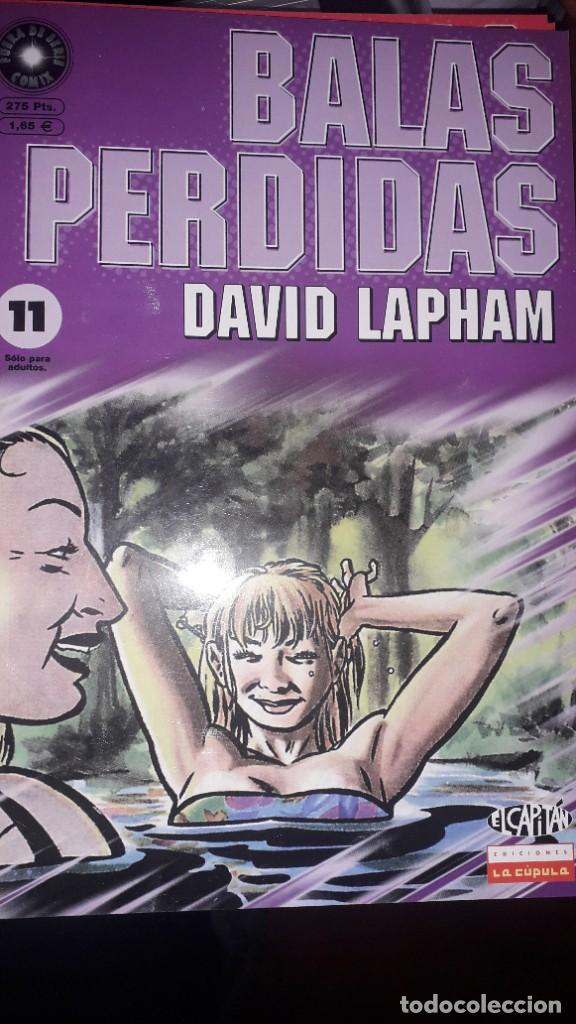 BALAS PERDIDAS #11, DE DAVID LAPHAM (Tebeos y Comics - La Cúpula - Comic USA)