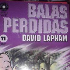 Comics : BALAS PERDIDAS #11, DE DAVID LAPHAM. Lote 236849340