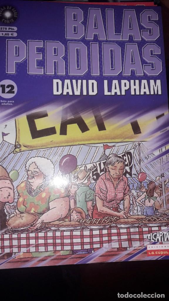 BALAS PERDIDAS #12, DE DAVID LAPHAM (Tebeos y Comics - La Cúpula - Comic USA)