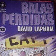 Comics : BALAS PERDIDAS #12, DE DAVID LAPHAM. Lote 236849355