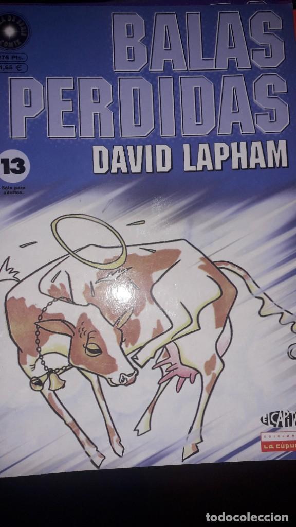 BALAS PERDIDAS #13, DE DAVID LAPHAM (Tebeos y Comics - La Cúpula - Comic USA)